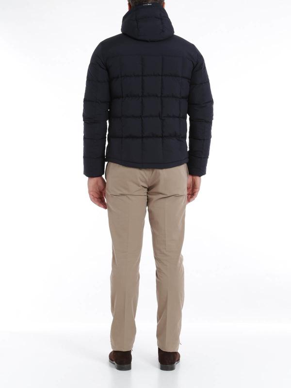 Laminar short padded jacket shop online: Herno