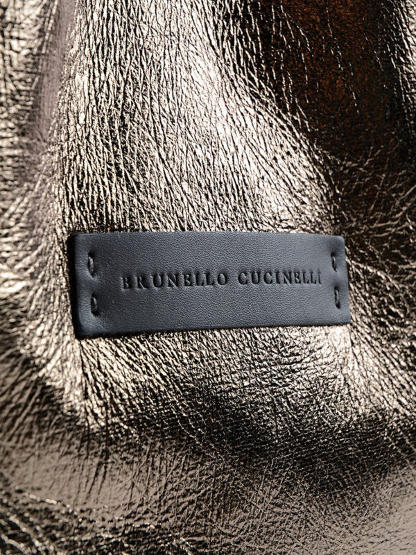 Shopper - Einfarbig shop online: BRUNELLO CUCINELLI