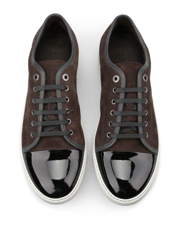 LANVIN buy online Sneaker Fur Herren - Dunkelgrau