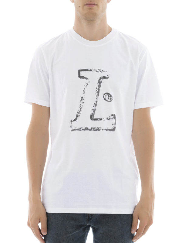 LANVIN: T-shirts online - T-Shirt - Weiß