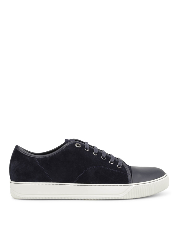 LANVIN: trainers online - Suede trainers