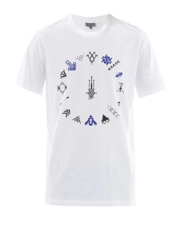 Lanvin: T-shirts - T-Shirt - Weiß