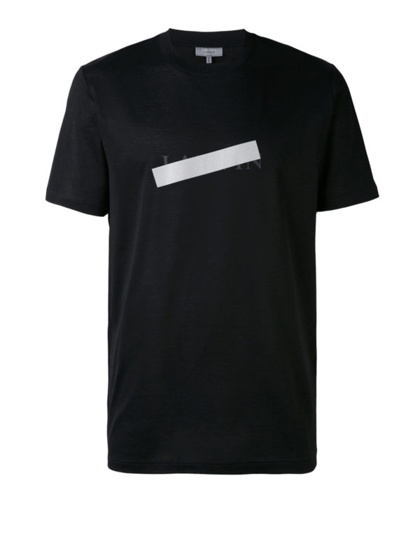 Lanvin: T-shirts - T-Shirt - Schwarz