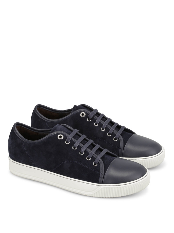 LANVIN: trainers - Suede trainers