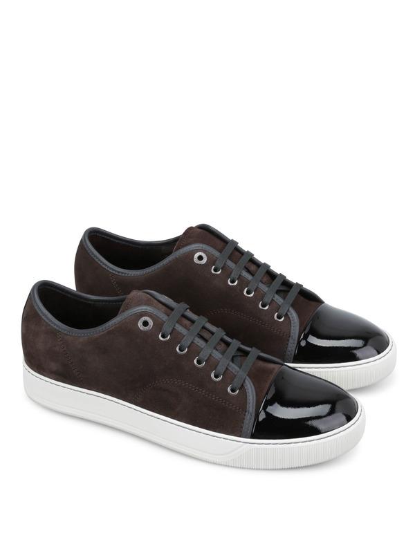 LANVIN: Sneaker - Sneaker Fur Herren - Dunkelgrau