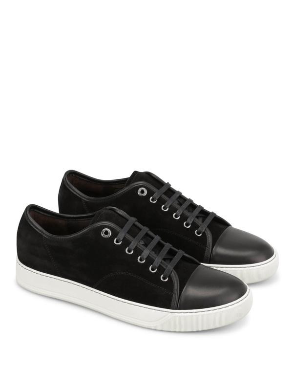Lanvin: Sneaker - Sneaker Fur Herren - Schwarz