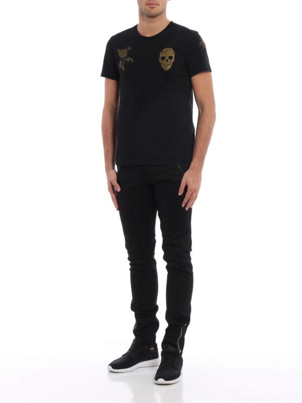 Straight Leg Jeans - Schwarz shop online: Alexander Mcqueen
