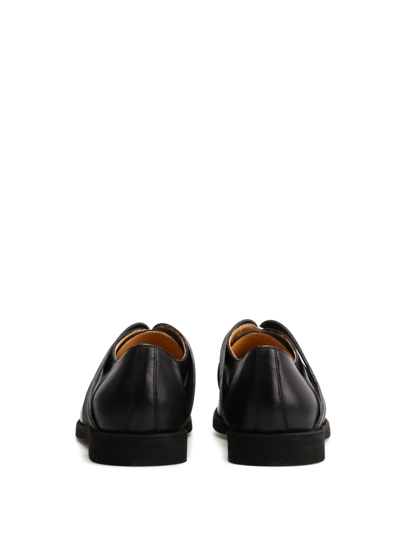 Leather shoes with rubber details shop online: MM6 MAISON MARGIELA
