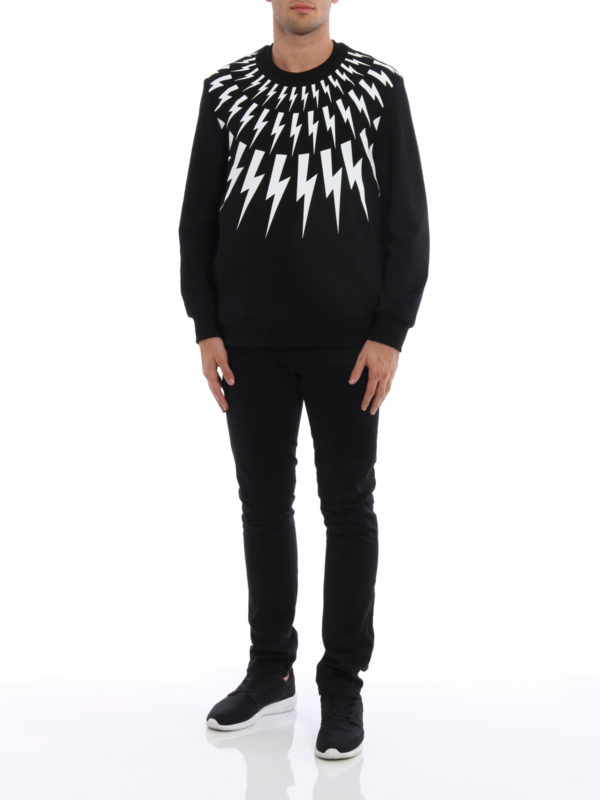Sweatshirt - Slim Fit shop online: Neil Barrett