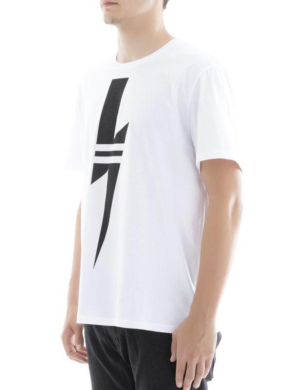 T-Shirt - Weiß shop online: NEIL BARRETT