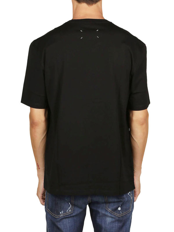 T-Shirt - Schwarz shop online: Maison Margiela