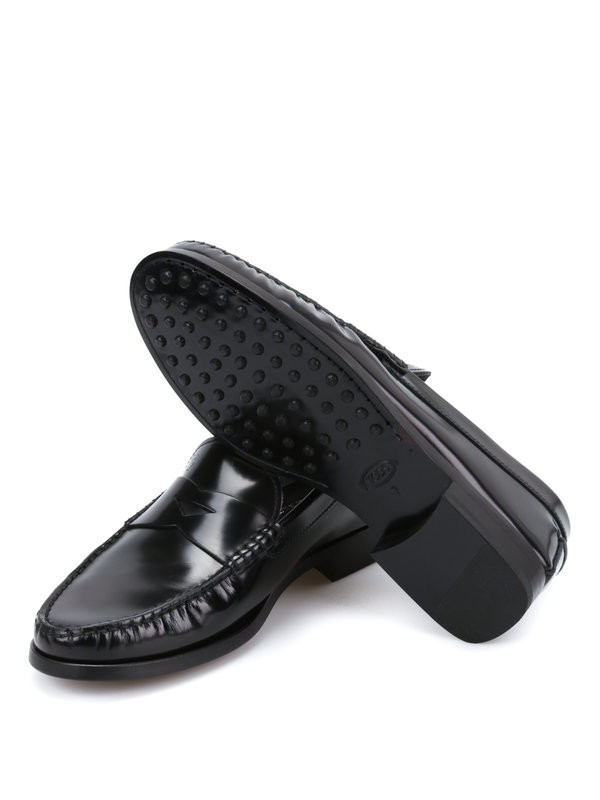 Loafers & Slippers shop online. Brushed leather loafers