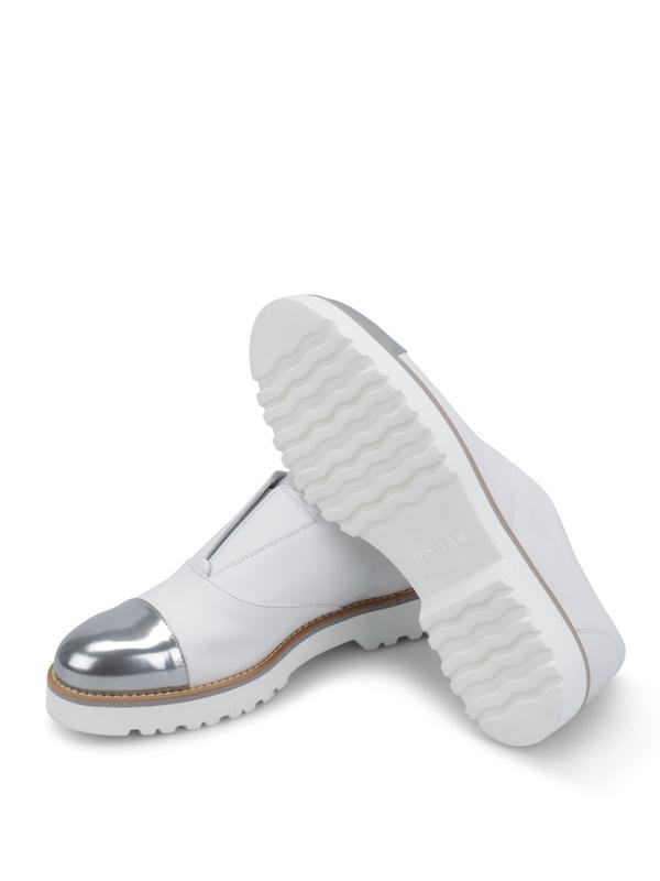 Mokassins und Slippers shop online Sneaker Fur Damen - Weiß