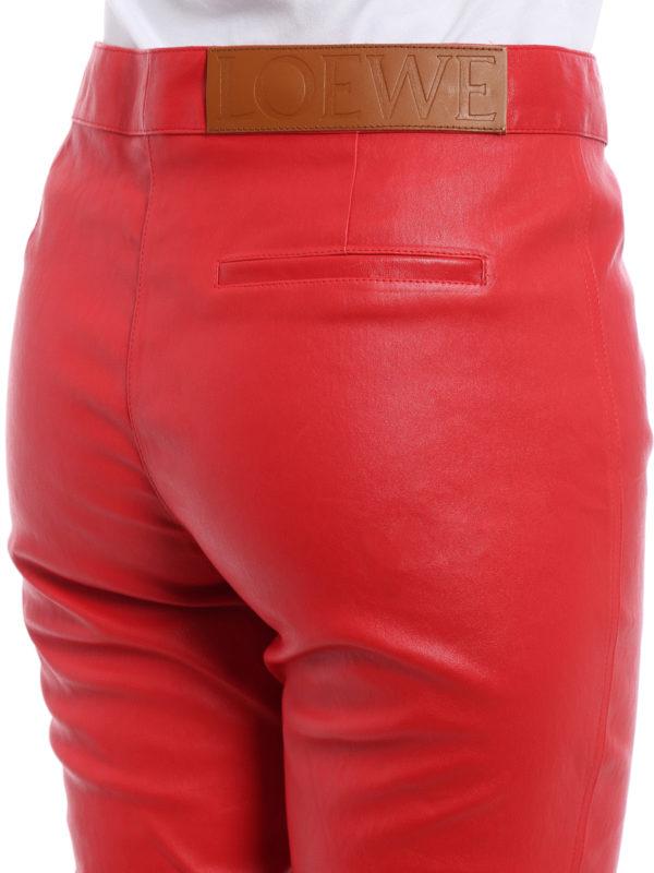 Loewe buy online Lederhose - Rot