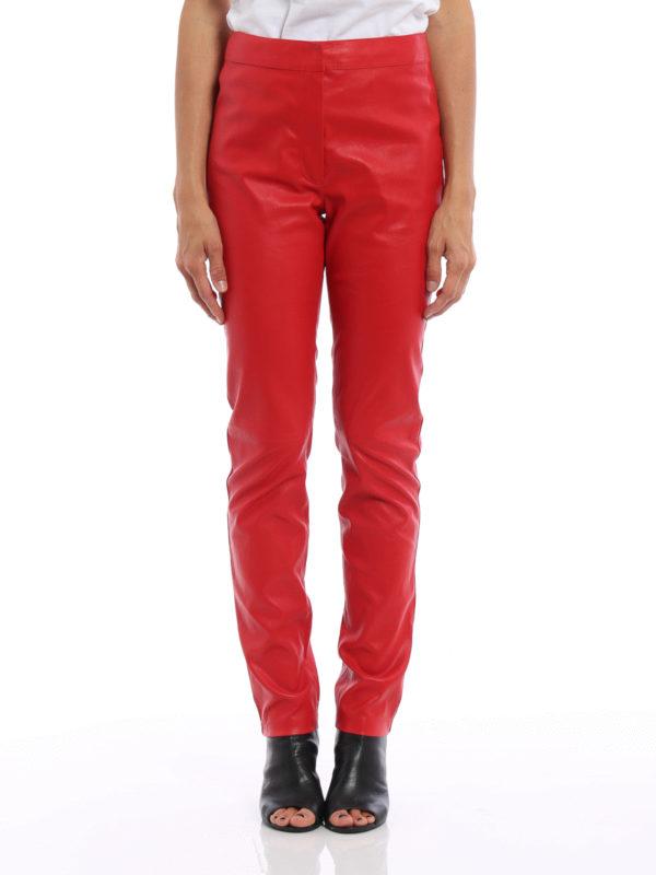 Loewe: Lederhosen online - Lederhose - Rot