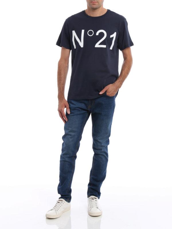 T-Shirt - Blau shop online: N°21