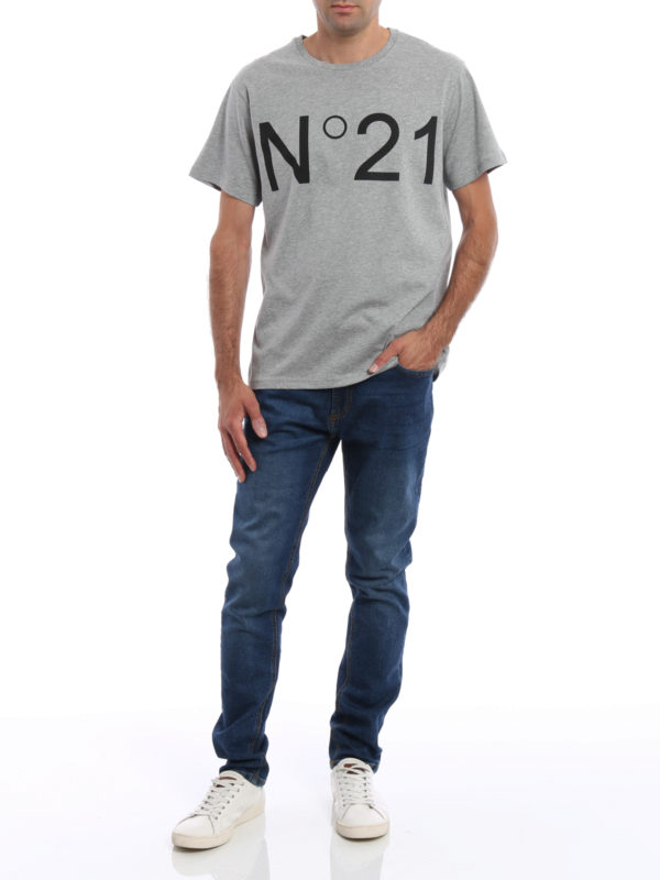 T-Shirt - Grau shop online: N°21