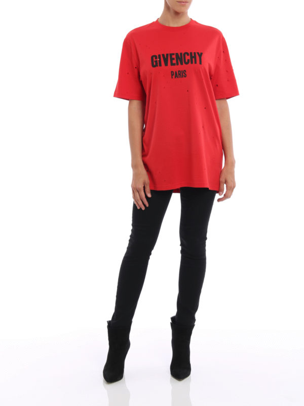 T-Shirt - Rot shop online: Givenchy