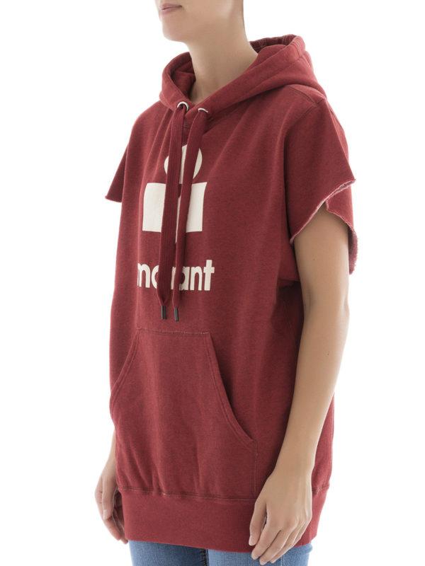 Sweatshirt - Rot shop online: Isabel Marant Etoile