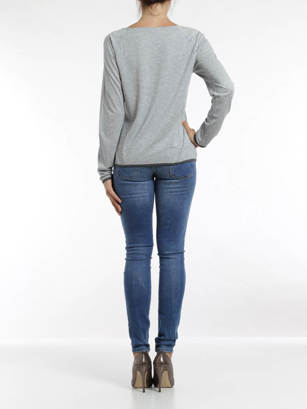 Logo print top shop online: Armani Jeans
