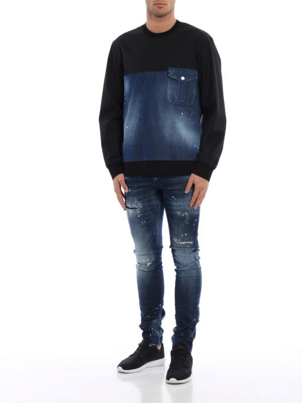Straight Leg Jeans - Dark Wash shop online: DSQUARED2