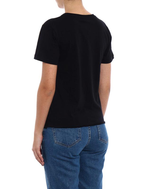 T-Shirt - Schwarz shop online: SAINT LAURENT