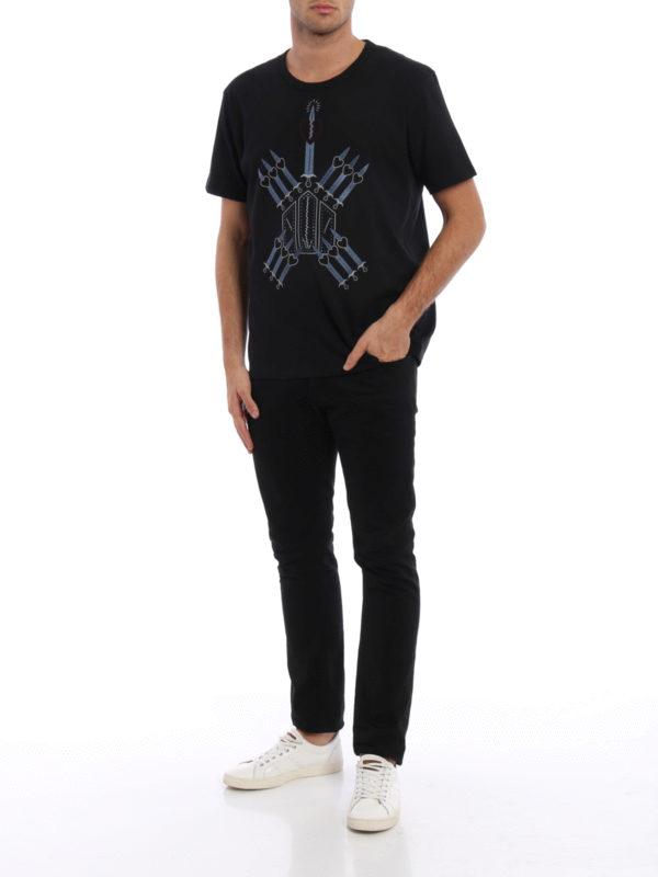 T-Shirt - Schwarz shop online: Valentino