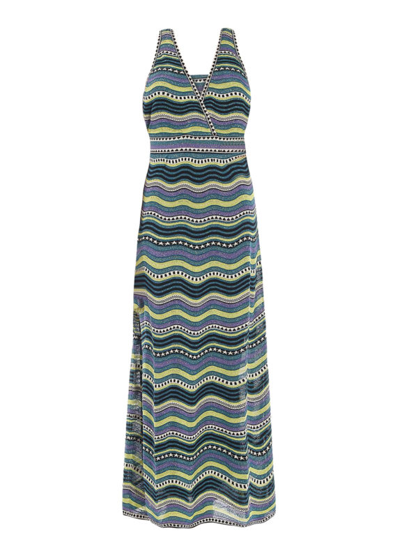 2019 New Long knit dress de M Missoni - Vestidos largos - KD0KD11S 23C A47 - IJSDFJD