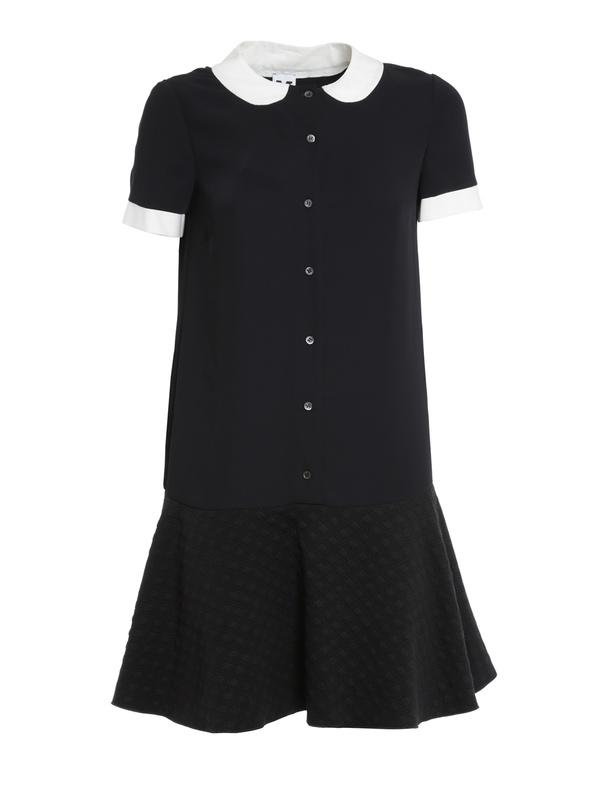 M Missoni: short dresses - Faux collar dress