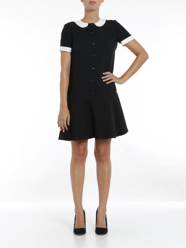 M Missoni: short dresses online - Faux collar dress