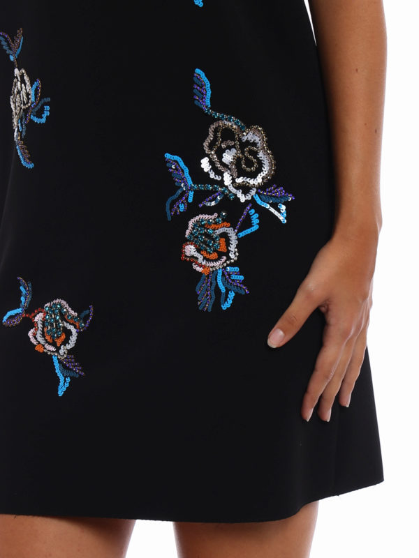 m.s.g.m. buy online Dress with fluo jewel embroideries