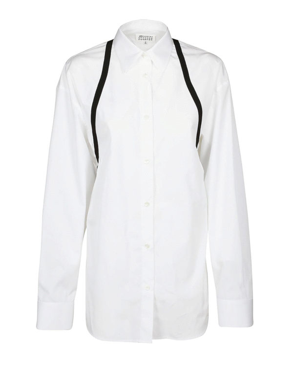 Maison Margiela: Hemden - Hemd - Over