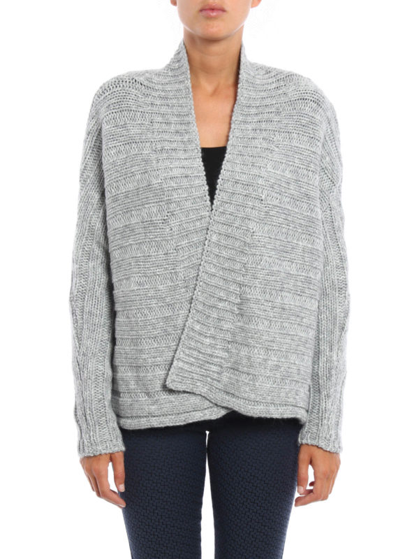 Manila Grace: cardigans online - Wool and alpaca crop cardigan