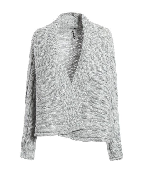 Manila Grace: cardigans - Wool and alpaca crop cardigan