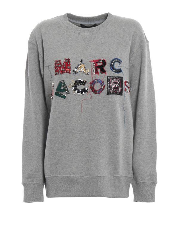 MARC JACOBS: Sweatshirts und Pullover - Sweatshirt - Grau