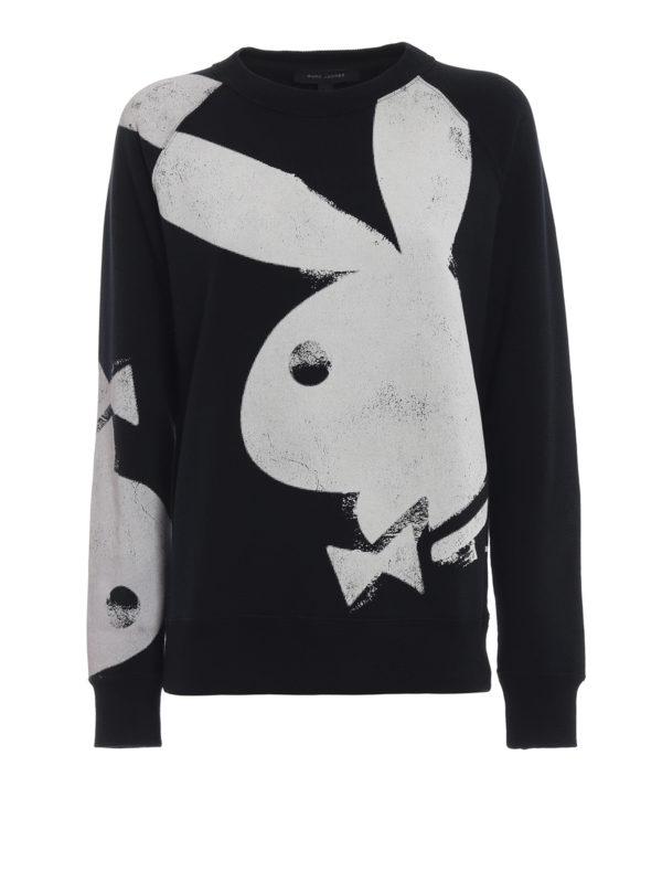 MARC JACOBS: Sweatshirts und Pullover - Sweatshirt - Schwarz