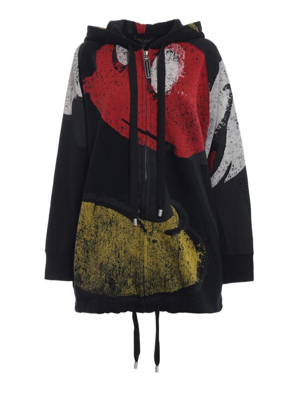 MARC JACOBS: Sweatshirts und Pullover - Sweatshirt - Over