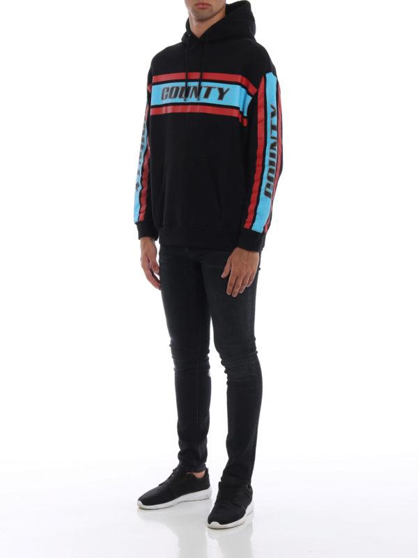Marcelo Burlon: Sweatshirts und Pullover online - Sweatshirt - Schwarz