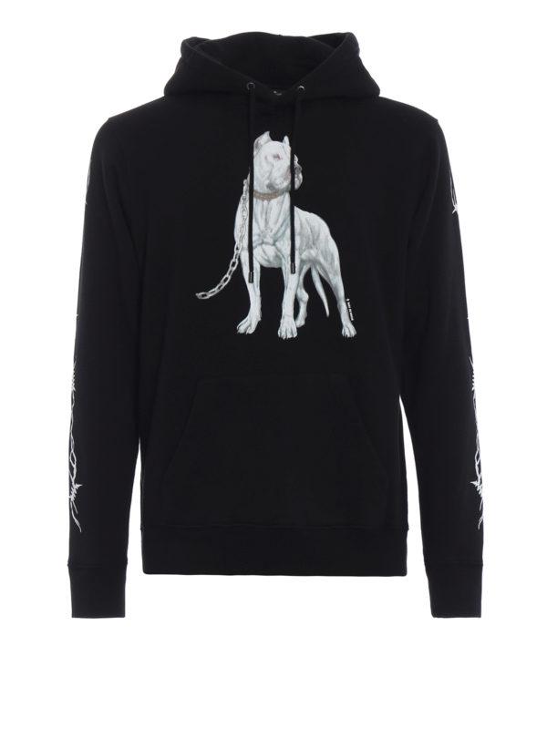 Marcelo Burlon: Sweatshirts und Pullover - Sweatshirt - Schwarz