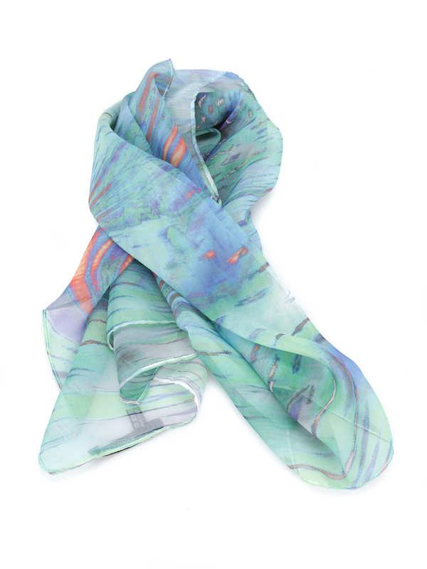 Maria Enrica Nardi: scarves - Natalia silk scarf
