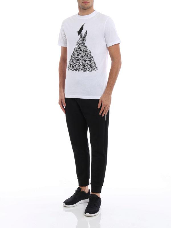 T-Shirt - Weiß shop online: Mcq