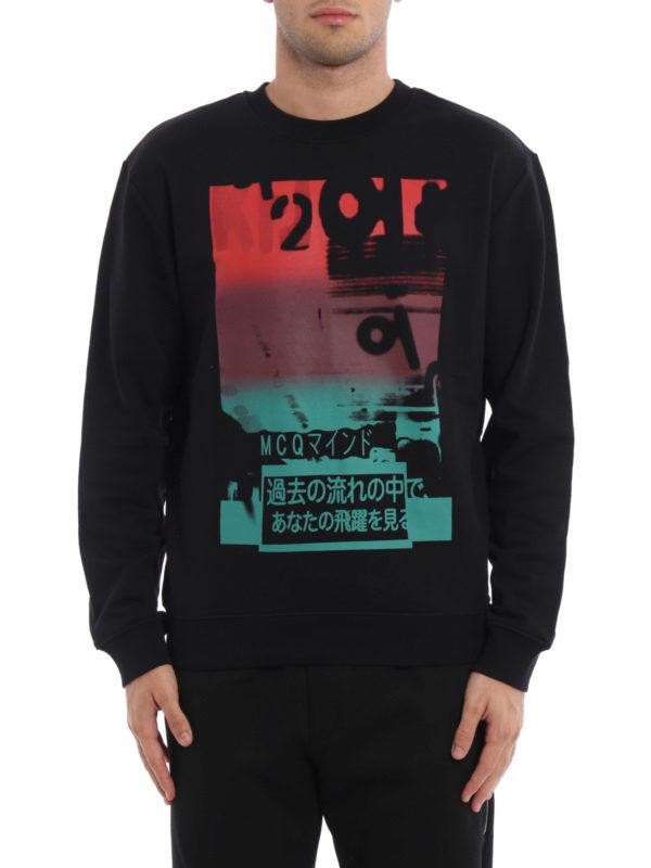 Mcq: Sweatshirts und Pullover online - Sweatshirt - Gemustert