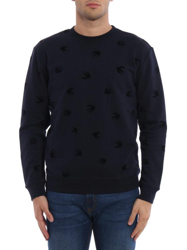 MCQ: Sweatshirts und Pullover online - Sweatshirt - Dunkelblau