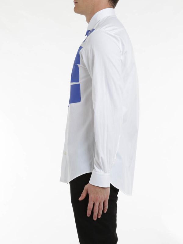 iKRIX MCQ: Stipe tux shirt