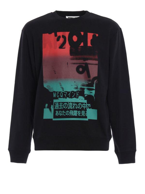 Mcq: Sweatshirts und Pullover - Sweatshirt - Gemustert