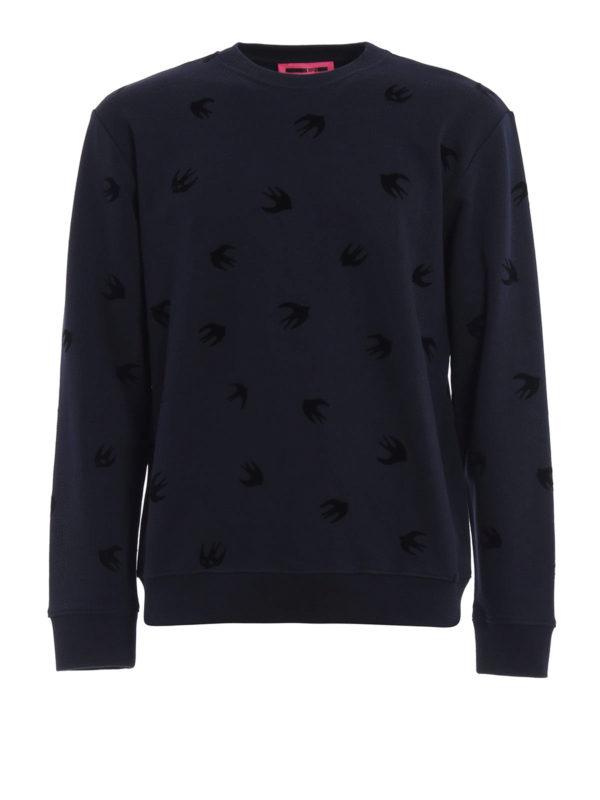 MCQ: Sweatshirts und Pullover - Sweatshirt - Dunkelblau