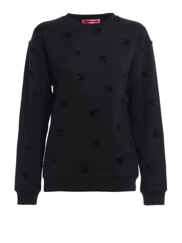 MCQ: Sweatshirts und Pullover - Sweatshirt - Schwarz
