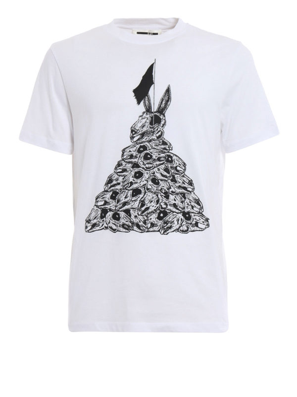 Mcq: T-shirts - T-Shirt - Weiß
