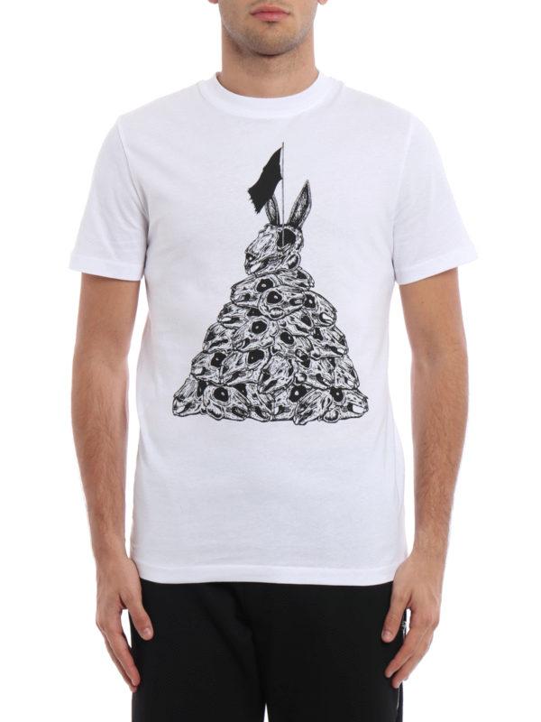 Mcq: T-shirts online - T-Shirt - Weiß