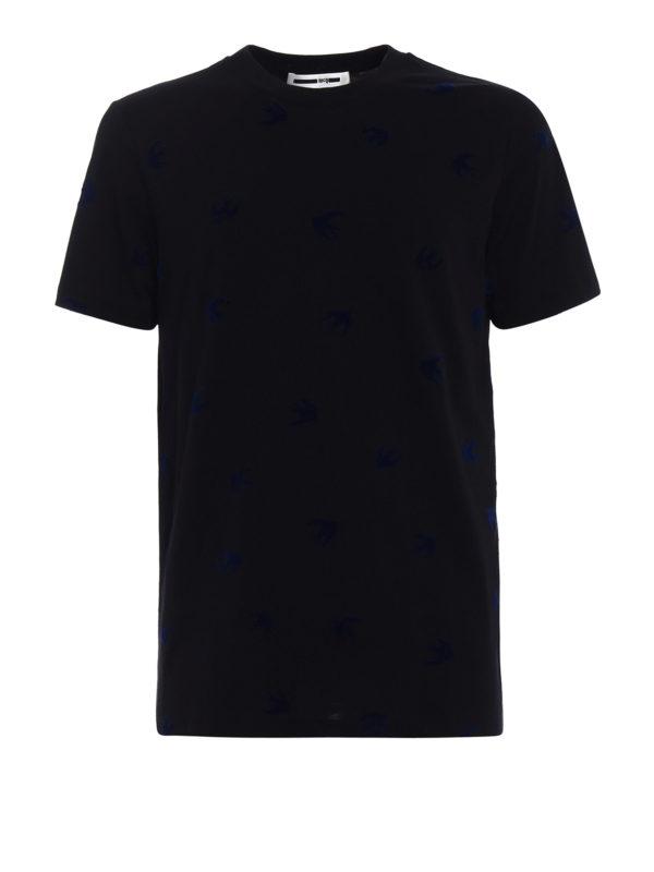 Mcq: T-shirts - T-Shirt - Schwarz